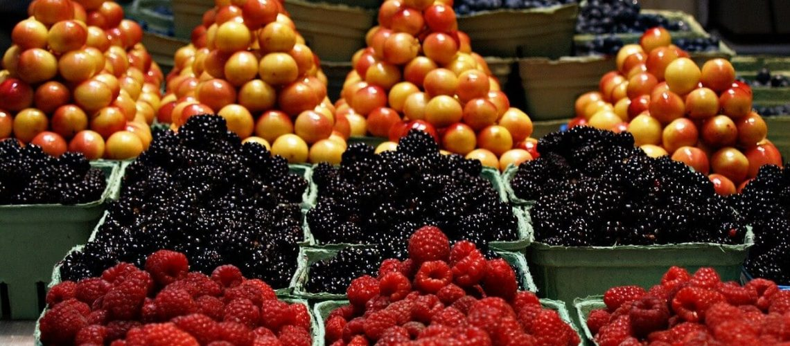 fruits list access to China